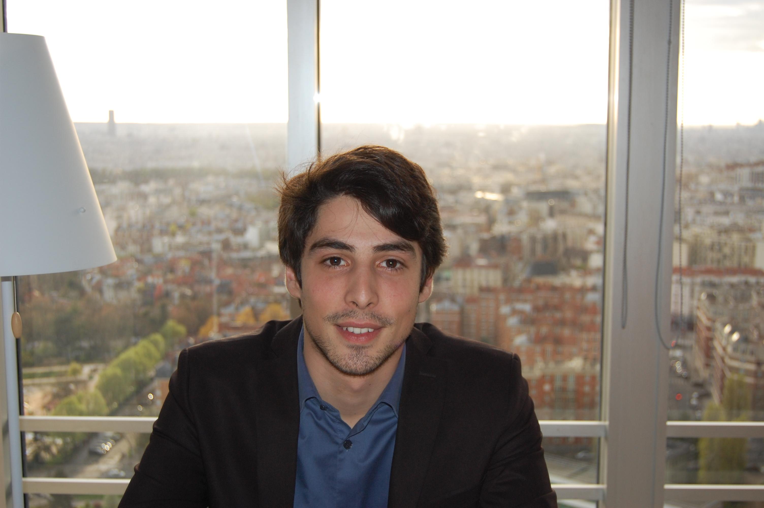 Valentin Turpaud - étudiant en master marketing vente au CFA du CNAM